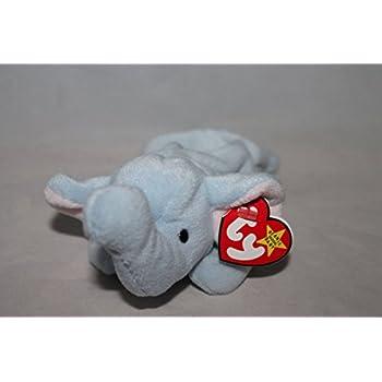 Amazon.com  Ty Beanie Babies - Peanut the Light Blue Elephant  Toys ... 720d30433464