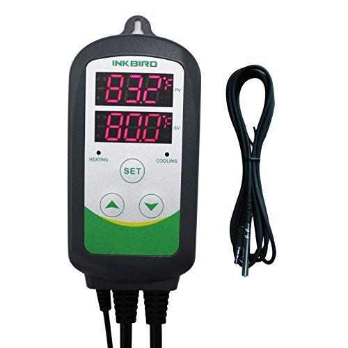 Inkbird 308S-5NTC 1100W Brewing Temperature Controller, Heat