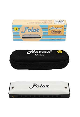 Harmo Polar Harmonica, Key of C - Professional Quality