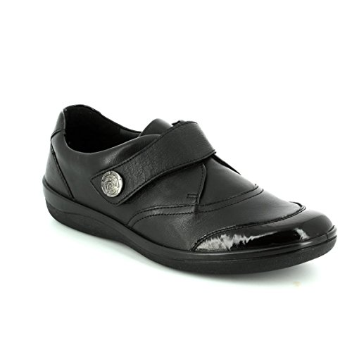 PADDERS Gaby Womens Casual Shoes Black Patent