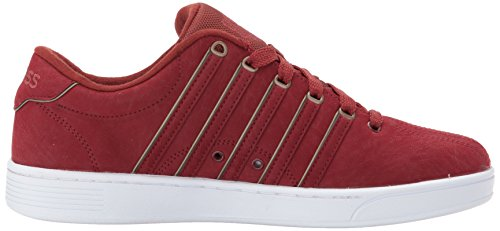K-swiss Hommes Court Pro Ii Sp P Cmf Sneaker Brique / Blanc