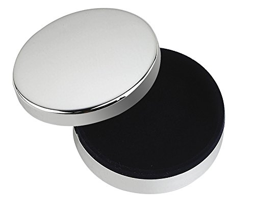 - Upper Gifts Silver Round Keepsake Box