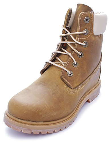 Timberland EK 6in Premium Wedge Golden Beige C8229A, Boots Beige (Golden Beige)