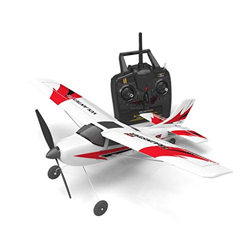 Volantex 761-1 2.4GHz 3CH RC Airplane RTF Glider 360° Flip Six Axis Gyroscope Powerful Motor EPP Material Simulation Remote Control Airplane for Beginners Best Gifts to Kids 14+