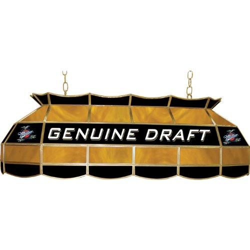 Genuine Draft Light - Miller Genuine Draft Tiffany Gameroom Lamp, 40