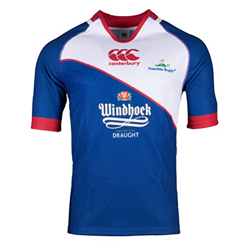 CCC Namibia Home Pro Rugby Shirt replica [white/blue] - Medium