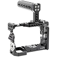 SmallRig Camera Cage for Sony Alpha A7 II/ A7R II/ A7S II Mirrorless Digital Camera with Top Handle and HDMI Cable Lock - 2014