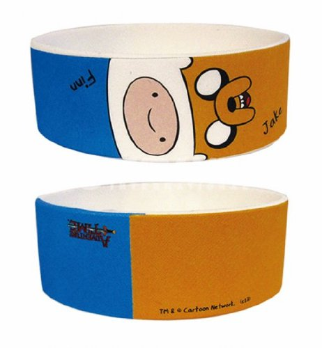 Adventure Time Finn and Jake Rubber Wristband ()