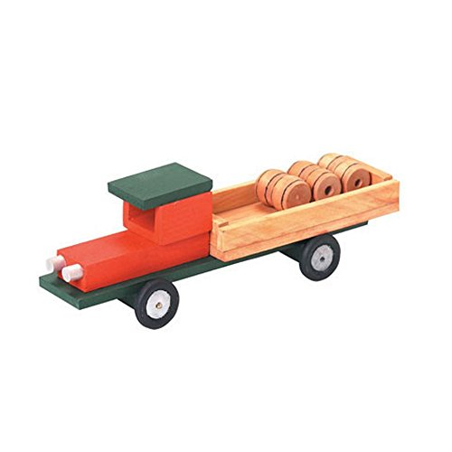 Unfinished Pickup Truck Wood Craft Kit - 7 1/4in. X 2 1/2in. (Unfinished When Fully Assembled) Wooden Model Company