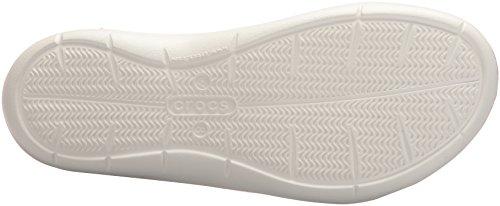Rose W Swiftwater Femme Sandal Blanc Pour Crocs Sandales RxawaY