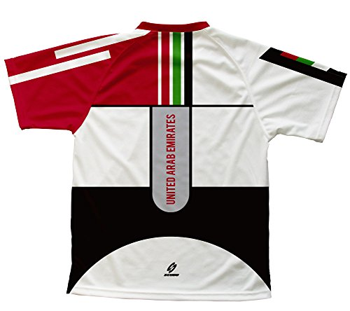 United Arab Emirates Scudopro Technical T-Shirt for Men and Women - Size L