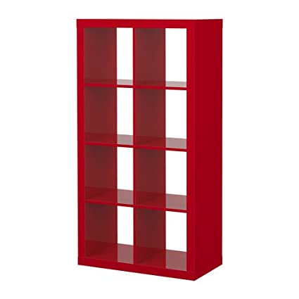 Ikea Expedit Bookcase Room Divider Cube Display High Gloss