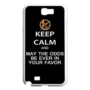 DIY Case Cover for Samsung Galaxy Note 2 N7100 with Customized The Hunger Games WANGJING JINDA