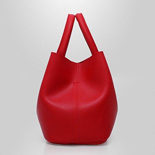 Top Fashion Pu Women Bags Bag For Lady Handle Large Crossbody Leather Red Handbag Tote Elegant Satchel Shoulder 1cBSg1Wr