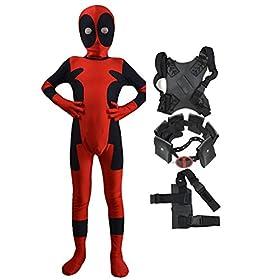 - 4126pPBAgRL - Danlier Kids Halloween 3D Dress Up Pretend Play Cosplay Spandex Party Full Bodysuits