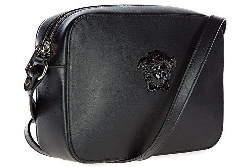 2049bdde5c Versace borsa donna a tracolla pelle borsello nero Où Acheter ...