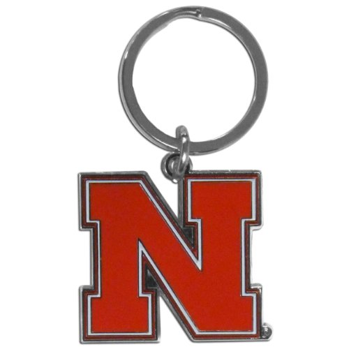 NCAA Nebraska Cornhuskers Chrome Key Chain (Nebraska Fan)