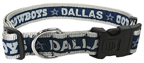 Pets First NFL Dallas Cowboys Dog Collar, X-Large Dallas Cowboys Dog Leash