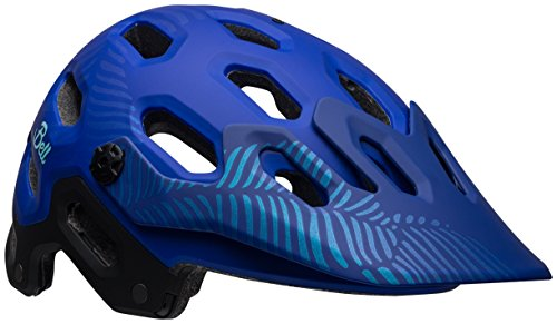 Bell Super 3 MIPS Cycling Helmet - Matte Cobalt/Pearl Joy Small