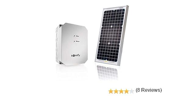 Somfy 2400961 Kit de Alimentación Solar, Gris: Amazon.es: Bricolaje y herramientas