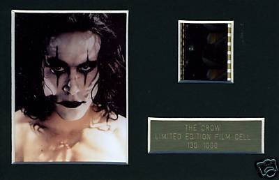 The Crow Brandon Lee Limited Edition Film Cell m