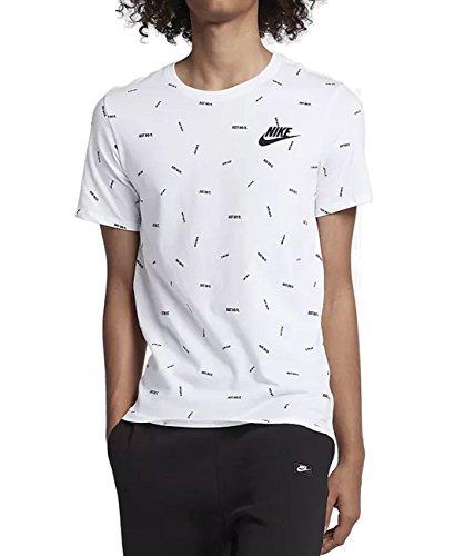 2t Jdi Th noir Nike Blanc shirt ZEzOq