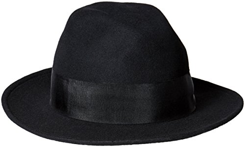 san-diego-hat-company-womens-felt-fedora-2-brim-and-grossgrain-ribbon-black-one-size