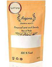 White Alum Powder 100 g For Skin & Hair, Raw & Pure Premium Quality مسحوق الشبة الأبيض 100 غ للبشرة والشعر ، خام، نقية بجودة ممتازة