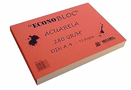 Econobloc acuarela Michel 280g (20x20 cm)