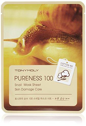 TONYMOLY Pureness 100 Snail Mask Sheet