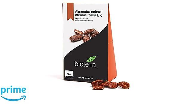 Bioterra, almendra caramelizada con azúcar de caña bio, 6 estuches de 100 g (Total 600 g): Amazon.es: Alimentación y bebidas