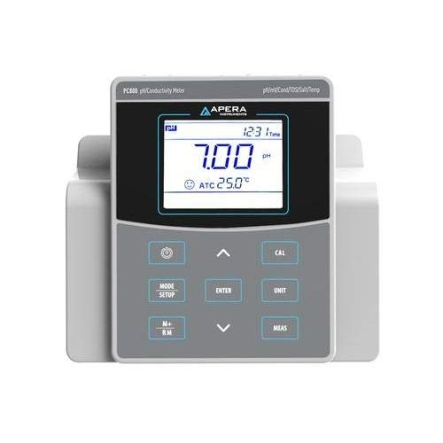 Apera Instruments AI523-M, PC800 Benchtop pH/Conductivity Meter