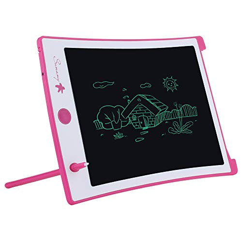 LCD Writing Tablet,8.5-inch Electronic Drawing Board and Doodle Board The Toys Gifts for Kids at Home and School (Pink)