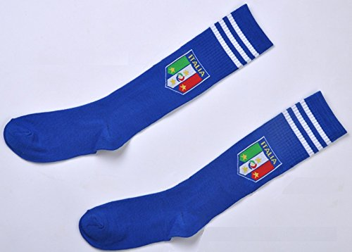 Italy National Soccer Team Socks for Kids/youth by 724