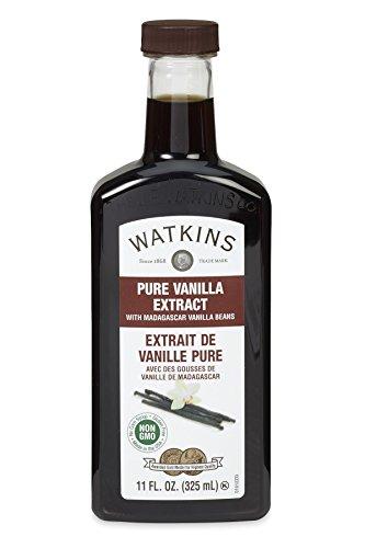 Watkins Pure Vanilla Extract, with Madagascar Vailla Beans, 11 Ounce - Natural Vanilla