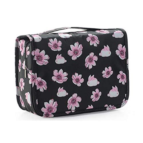 d1c5254280 ITraveller Portable Hanging Toiletry Bag/Portable Travel Organizer Cosmetic  Bag.