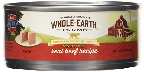 Merrick Pet Care Whole Earth Farms Grain Free Real Beef Recipe, 1 Count, One Size