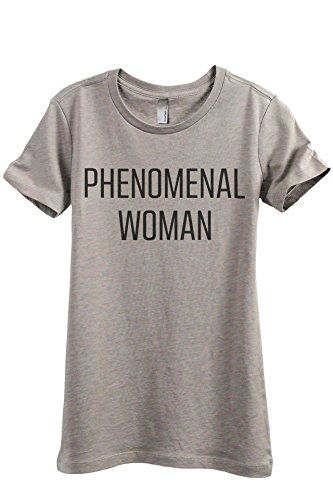 (Thread Tank Phenomenal Woman Women's Fashion Relaxed T-Shirt Tee Heather Tan 2X-Large )