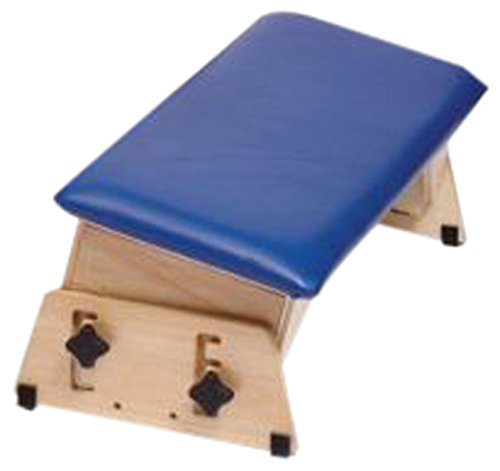 Sammons Preston Adjustable Benches, Size X-Large, Padded Therapy Bench, Angled Seats for Physical and Occupational Therapy, Tilted Surface Stool for Exercise and Positioning, Feet on The Floor