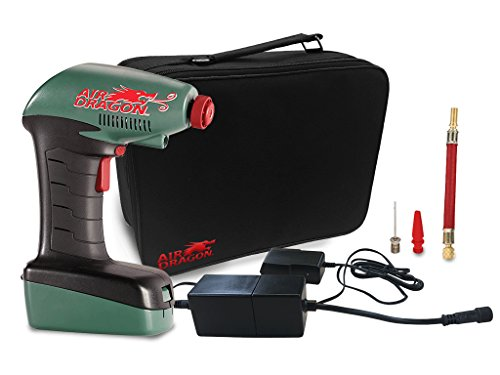 Air Dragon Deluxe – Portable Air Compressor with Built-In...