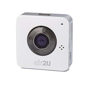 Aiptek Mobile Eyes HD - Cámara de vigilancia de 1 Mp (HD 720p, CMOS, micro SD, SDHC, WLAN), blanco