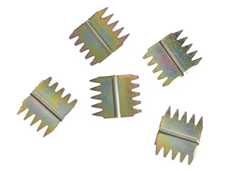 Faithfull Scutch Combs 25mm Pack of 5 1in