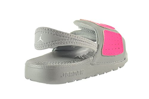 ff017d3b1 Jordan Hydro 3 GT Baby Toddlers Sandals Metallic Platinum White-Hyper Pink  644933-