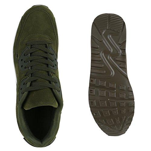 Daim Bottes Hommes La Flandell Vert Unisexe Course Paradis Sur Olive Chaussures Taille De Sport PqPfrF