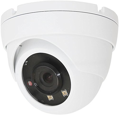HDView (Business Series) 4MP Megapixel IP Network Camera H.265 ONVIF PoE, SONY Sensor, Super Matrix EXIR, 2.8mm Wide Angle Lens 3-Axis, Eyeball Dome, VCA Intelligent Analytics by HDView