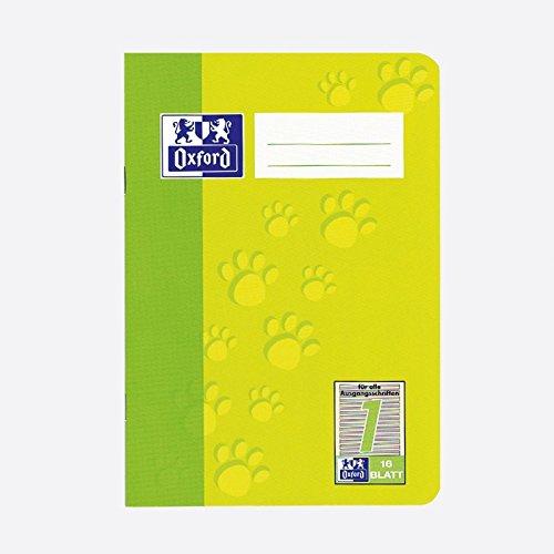 Oxford 100050406 Heft A5 / 16 Blatt Lineatur 1 385501601/100050406