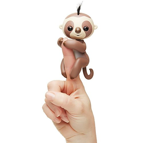 WowWee Fingerling Kingsley The Sloth (Halloween Decorations Ghosts Around Tree)