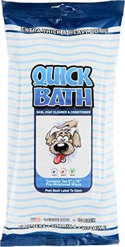 Dog Grooming: IVS Quick Bath Dog Wipes