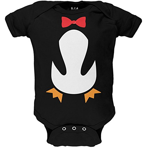 [Penguin Costume Baby One Piece - 9-12 months] (Baby Costumes Penguin)