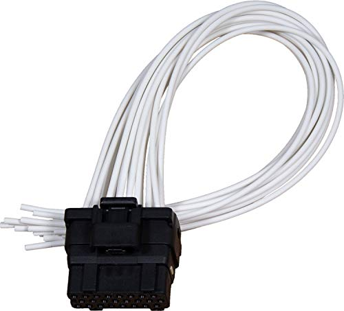 APDTY 133995 FICM Fuel Injector Control Module Wiring Harness Pigtail Connector Fits 2003-2007 Ford Excursion F250 F350 F450 F550 w/ 6.0L Diesel 2004-2010 Ford E-Series Econoline Van w/6.0L